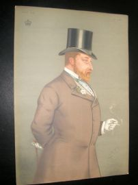 Vanity Fair Print 1877 Edward VII. Royal